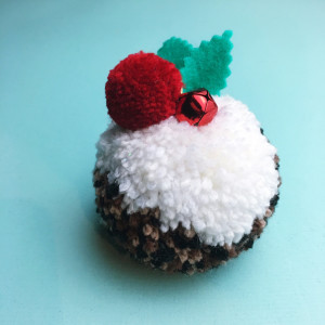 make: pompom pudding